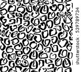 vector illustration leopard... | Shutterstock .eps vector #539789734