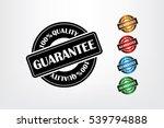sign guarantee vector... | Shutterstock .eps vector #539794888