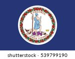flag of commonwealth of... | Shutterstock .eps vector #539799190