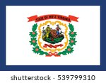 flag of west virginia state ... | Shutterstock .eps vector #539799310
