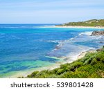 view of surfers point  margaret ... | Shutterstock . vector #539801428