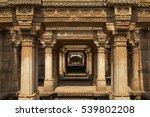 Ornately Carved Stonework Of...