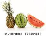 fresh fruits | Shutterstock . vector #539804854