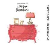 elegant antique vintage vector... | Shutterstock .eps vector #539822353