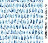 watercolor seamless pattern...   Shutterstock . vector #539832370