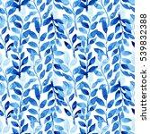 watercolor seamless pattern... | Shutterstock . vector #539832388