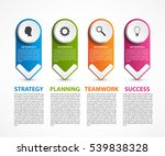 infographic template for... | Shutterstock .eps vector #539838328