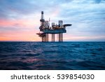 Offshore Jack Up Rig In The...