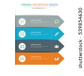 business  infographic  template ... | Shutterstock .eps vector #539854630