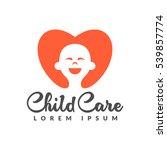 baby logo. child care logo....