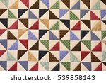 Patchwork Quilt. Part Of...