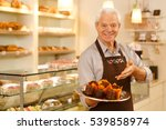 he makes the best cupcakes in... | Shutterstock . vector #539858974