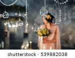 wedding decorations. wedding... | Shutterstock . vector #539882038