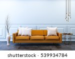 modern vintage interior  ... | Shutterstock . vector #539934784