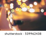 vintage tone blur image of... | Shutterstock . vector #539962438