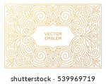 vector poster design template ... | Shutterstock .eps vector #539969719