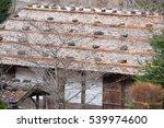 clear image of hida folk village | Shutterstock . vector #539974600