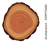 vector wood surface as... | Shutterstock .eps vector #539975680