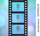 film strip design with your... | Shutterstock .eps vector #539980129