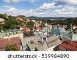 ancient city  banska stiavnica  ...   Shutterstock . vector #539984890