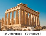 Parthenon On The Acropolis In...