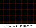 black check fabric texture... | Shutterstock .eps vector #539988520
