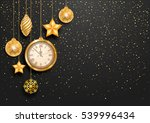 new year is coming. vintage... | Shutterstock .eps vector #539996434