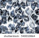 ethnic design. striped... | Shutterstock . vector #540010864