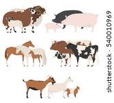 Farm Animall Family Collection...