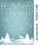 merry christmas and happy new... | Shutterstock .eps vector #540017188
