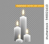 candles burn with fire... | Shutterstock .eps vector #540021610