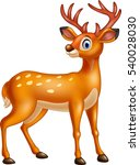 cartoon deer | Shutterstock .eps vector #540028030
