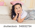 portrait of adorable asian girl ... | Shutterstock . vector #540032734