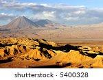 Chilean Atacama Desert - stock photo