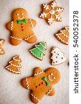 beautiful christmas background... | Shutterstock . vector #540052378