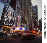 new york  usa   apr 30  2016  w ... | Shutterstock . vector #540056254