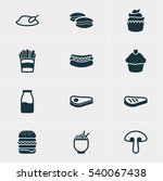 vector illustration of 12... | Shutterstock .eps vector #540067438