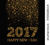 happy new year 2017 greeting... | Shutterstock .eps vector #540068614