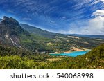 canyon of verdon  provence  may.... | Shutterstock . vector #540068998