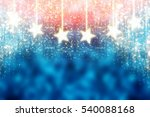 blue and red abstract christmas ... | Shutterstock . vector #540088168