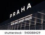 Prague Airport Main Station...