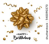 birthday background with... | Shutterstock .eps vector #540090370