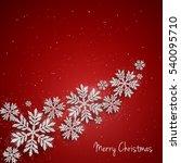 vector christmas new year... | Shutterstock .eps vector #540095710