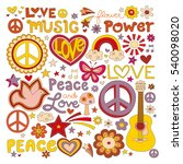 vector illustrations on a peace ... | Shutterstock .eps vector #540098020