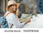 travel guide  tourism in europe ... | Shutterstock . vector #540098368