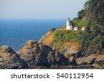 Light House Along Oregon Coast...