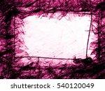 purple geometry frozen line... | Shutterstock . vector #540120049