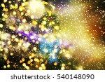 christmas background  | Shutterstock . vector #540148090
