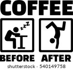 coffee process   befor and...