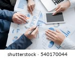 teamwork process  business team ... | Shutterstock . vector #540170044